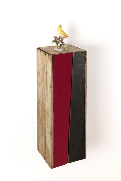 TODO RAMON, 'Canary on the Wooden box', 2020