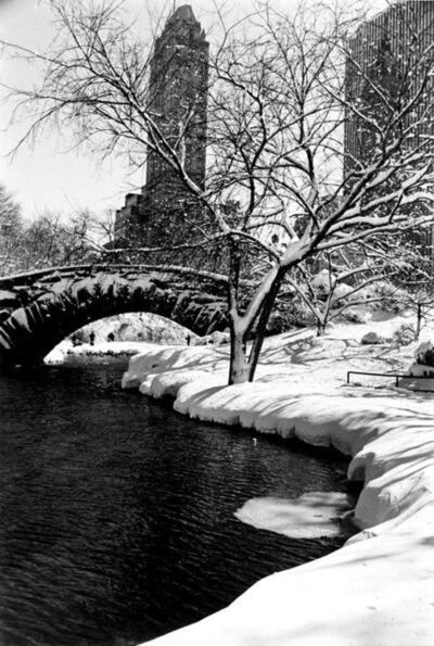 Alfred Eisenstaedt, 'Central Park After a Snowstorm, New York', 1959