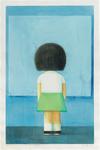 Liu Ye 刘野, 'Composition with Girl Back', 2005