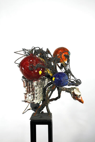 Raymon Elozua, 'H: IMF-04: & 04 Blur S&S', sculpture: 2016; photo: 2010