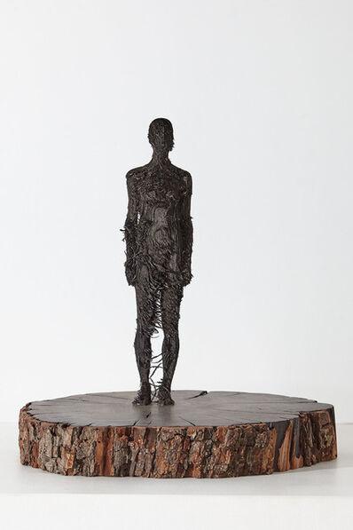 Aron Demetz, 'bozzetto I', 2018