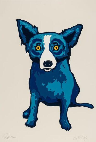 George Rodrigue, 'Untitled, Blue Dog', 1998