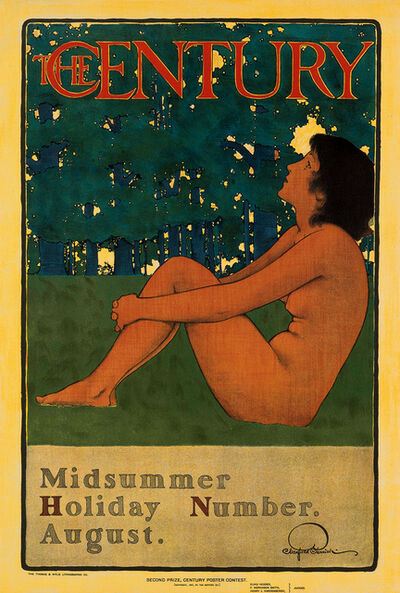 Maxfield Parrish, 'The Century - Midsummer Holiday Number August', 1897