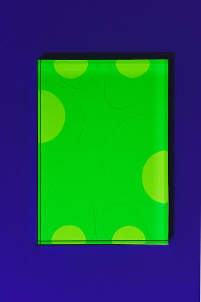 Regine Schumann, 'Fluo cut #21', 2020