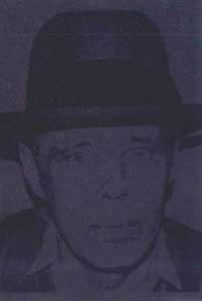 Andy Warhol, ' Joseph Beuys, II.246', 1980