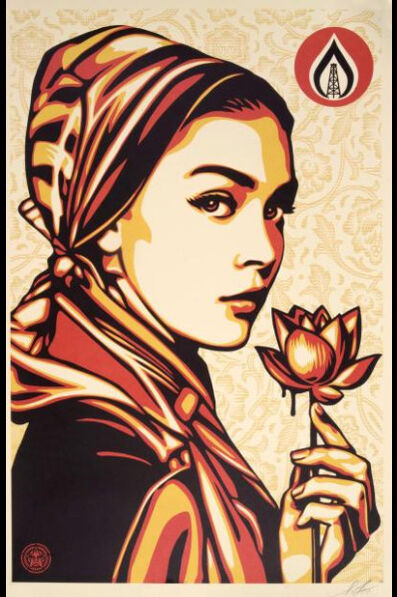 Shepard Fairey (OBEY), 'Natural Spring', 2016