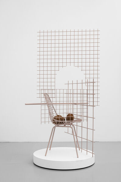 "David Renggli, '""Open House""  Mid-century Eames / Cart Duplex 2', 2018"