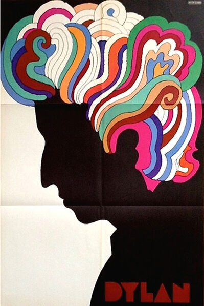 Milton Glaser, 'Bob Dylan', 1966