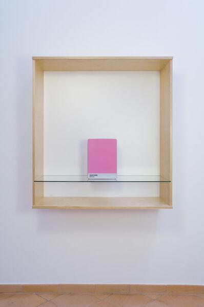 Haim Steinbach, 'Untitled (Pantone 672 C)', 2016