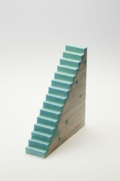 Tatsuo Kawaguchi, 'Relation - Optic Stairway Time, with Verdigris', 2014