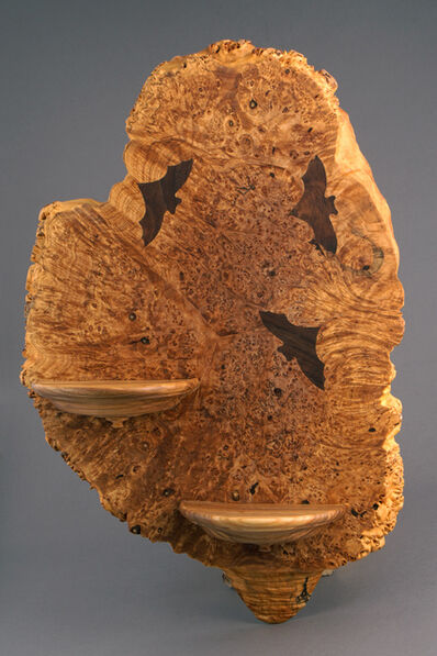 Michael Kehs, 'Bat Burl Shelf', 2017