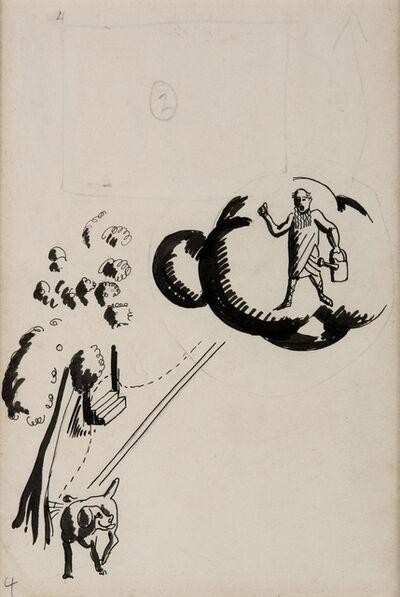 Alexander Calder, 'Runt Piddling on a Tree', ca. 1925