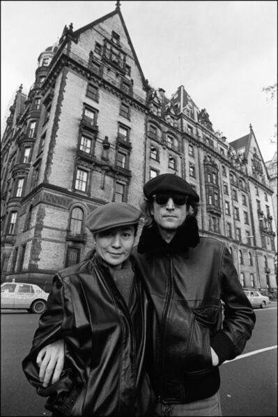 Allan Tannenbaum, 'John and Yoko at the Dakota', 1980