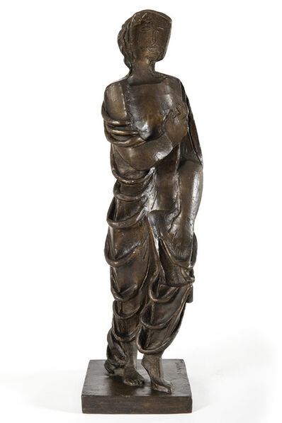 Ossip Zadkine, 'Figurine drapée', 1929