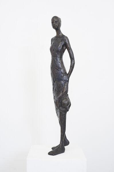 Tina Heuter, 'Frau mit Hut', 2019