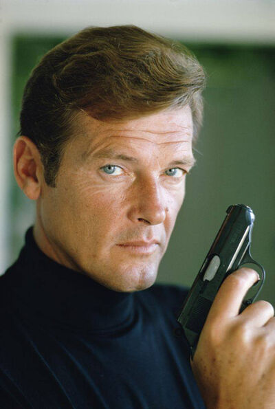 Terry O'Neill, 'Roger Moore - Live and Let Die 1973'