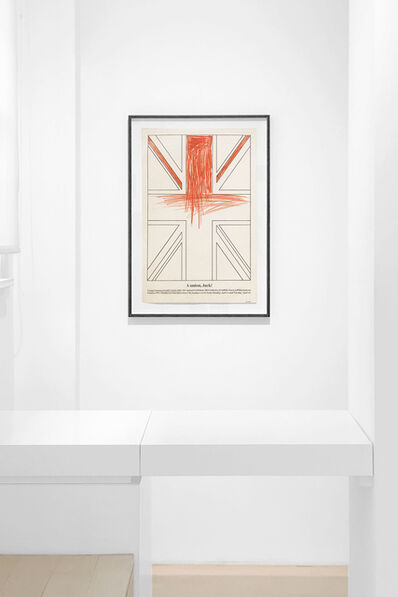Billy Apple, 'A Union, Jack! Young Commonwealth Artists 1962', 1962