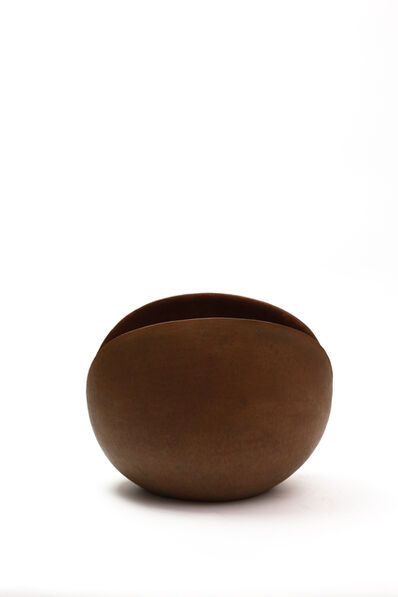 Mitsukuni Misaki, 'Saideiki (Colored stoneware vessel)', 2017
