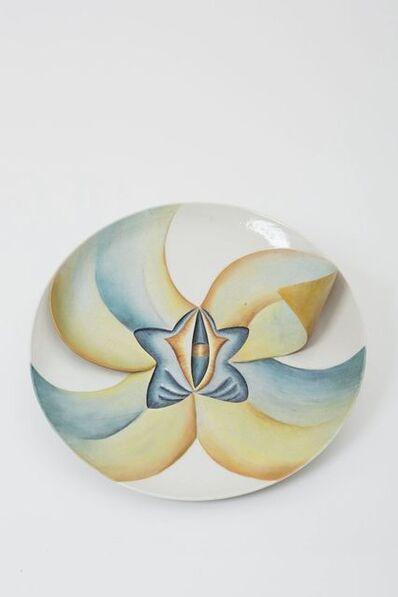 Judy Chicago, 'Caroline Herschel Test Plate (Early #2)', 1975-1978