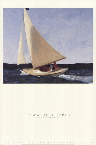 Edward Hopper, 'Sailing', 1999
