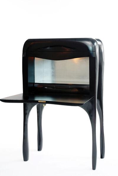 Jacques Jarrige, 'Sculpted writing desk cabinet by Jacques Jarrige', 2006