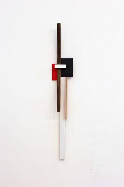 Levente Bálványos, 'Red and Black', 2019