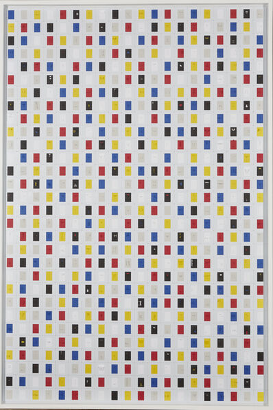 Marco Maggi, 'Spelling Multicolor', 2018