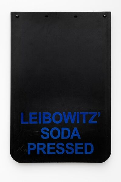 "Cary Leibowitz (""Candy Ass""), 'Leibowitz' Soda Pressed (Blue)', 2019"