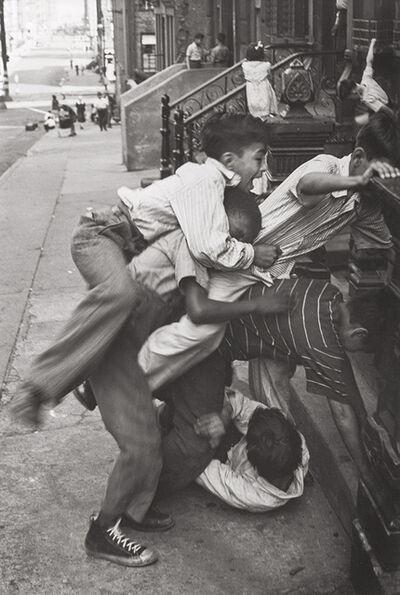Helen Levitt, 'N.Y.C. (Boys Climbing onto Each Other)', 1942c/1940s