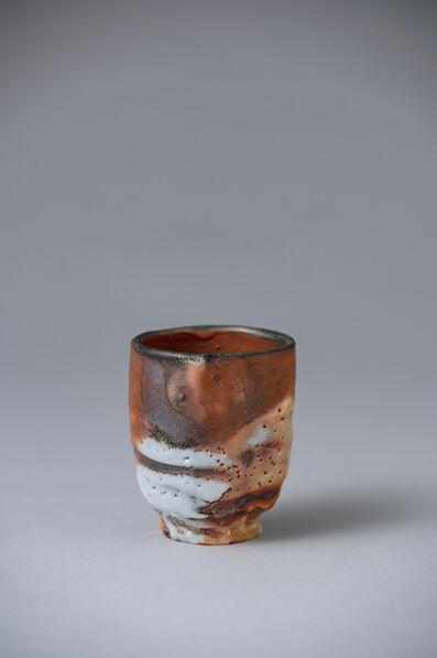 Ken Matsuzaki, 'Cup, gold shino glaze', 2020