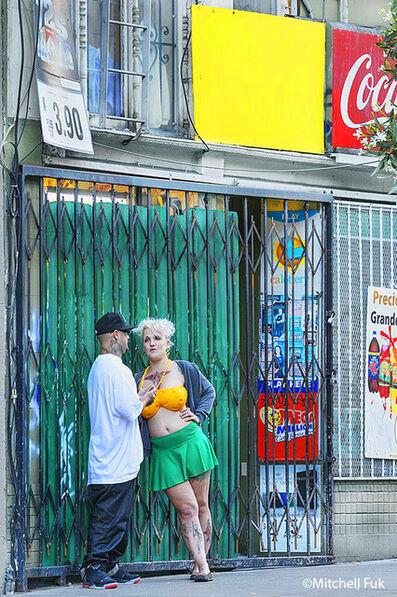 Mitchell Funk, 'Conversation in the Tenderloin, San Francisco', 2013