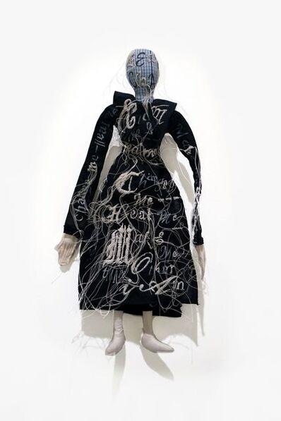 Lesley Dill, 'Unidentified Puritan Woman', 2018