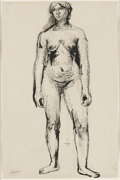 Henry Moore, 'Standing Figure', 1924