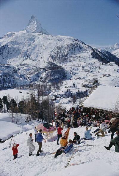Slim Aarons, 'Zermatt Skiing', 1968