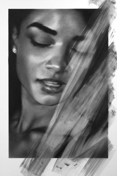VALENTIN VAN DER MEULEN, 'Untitled (Woman with earring)', 2017