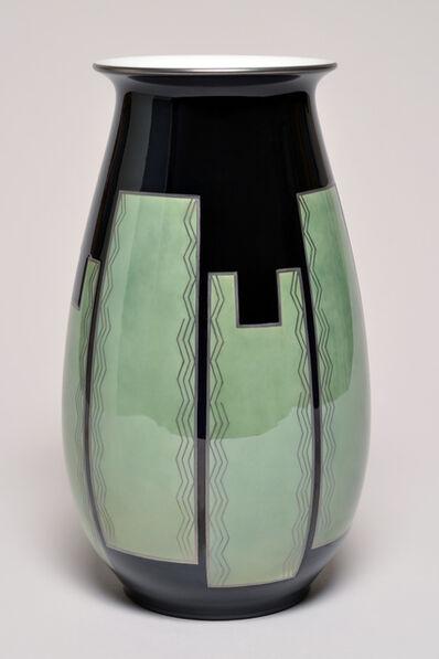 Sèvres Porcelain Manufactory, 'Aubert 2 Vase (décor Albert Martine 68.30)', 1927