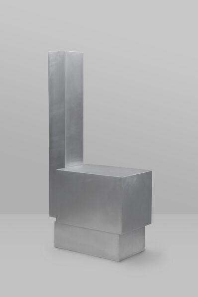 Hyungshin Hwang, 'Layered-steel_chair', 2018