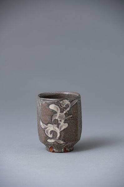 Ken Matsuzaki, 'Cup, Mashiko karakusa glaze decoration', 2020