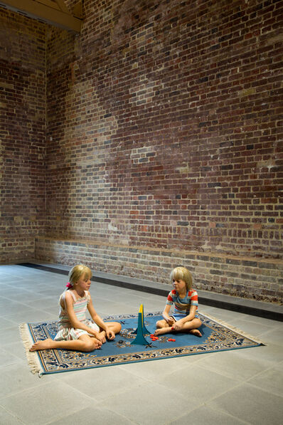 Duane Hanson, 'Children Playing Game', 1979