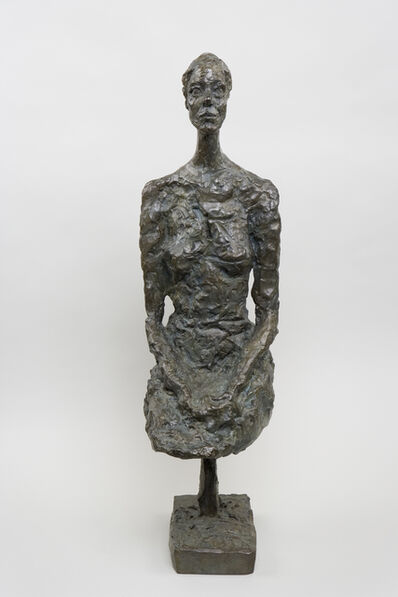 Alberto Giacometti, 'Grande femme assise (Large Seated Woman)', 1958
