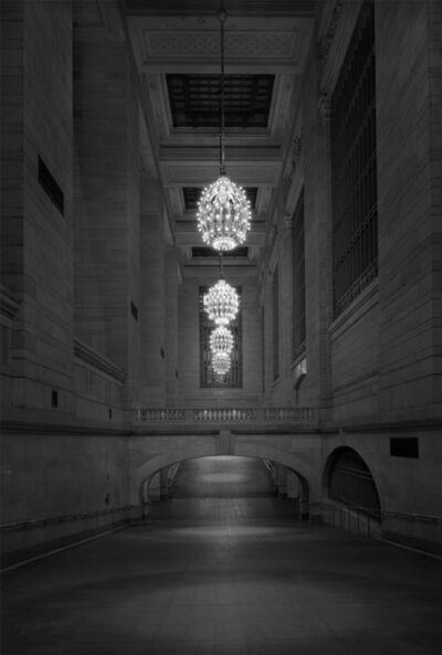 Michael Massaia, 'Ditch Light - Grand Central Station Project - 2am Corridor', 2016