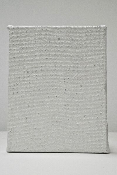 Karmelo Bermejo, 'Blank. Cuadro en blanco hecho de pintura blanca maciza', 2012