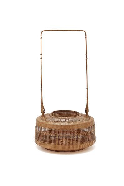 Tanabe Chikuunasai IV, 'Thousand line open work Peony basket 20 0396', 2019