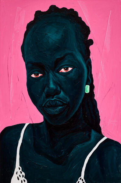 Annan Affotey, 'White Straps', 2021