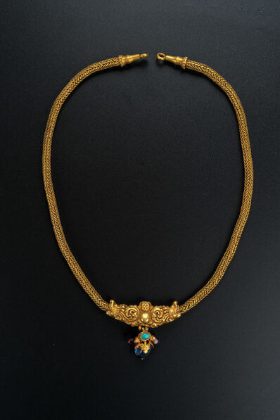 Unknown Artist, 'Gold Necklace with Makara Design', Northern dynasties or earlier-2nd to 6th century