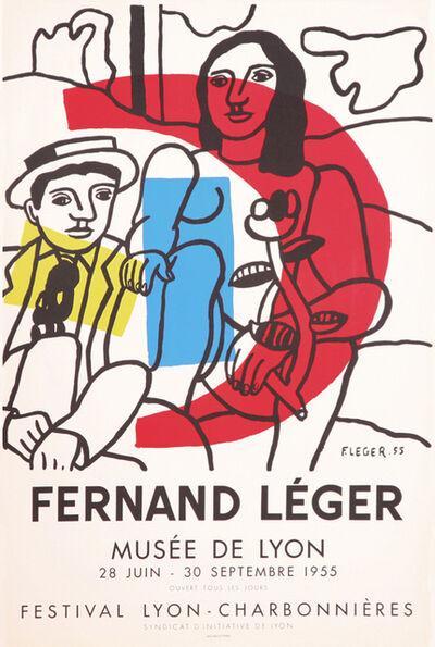 Fernand Léger, 'La Parade, Musee de Lyon', 1955