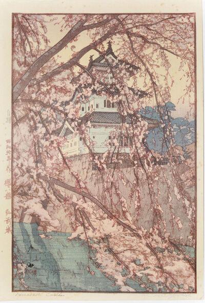 Yoshida Hiroshi, 'Hirosaki Castle', 1935