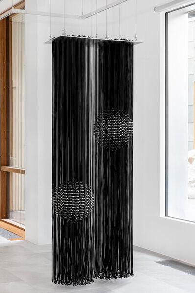 Eva LeWitt, 'Hanging Sphere (40) and (66)', 2021
