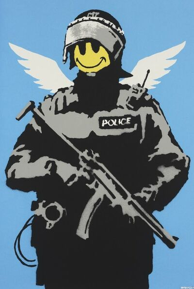 Banksy, 'Flying Copper'