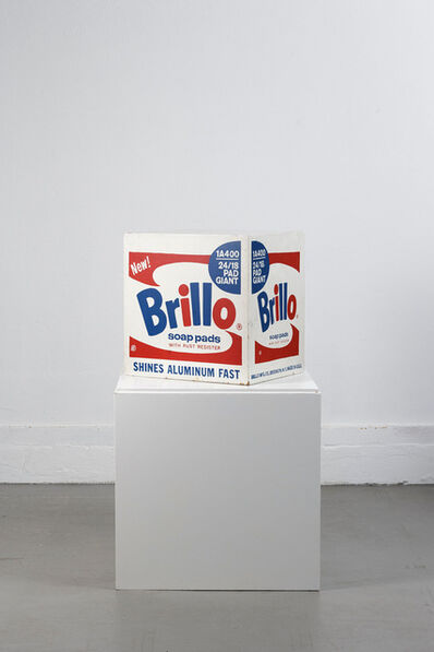 Andy Warhol, 'Brillo Soap Pads Box 1968 Stockholm Type (one of 6 known to exist)', 1968